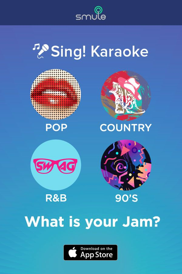 What do you feel like singing today? Check out Sing! Karaoke