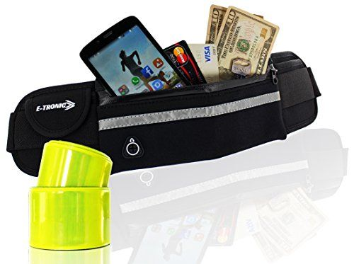 c49d92003941 WAIST PACK BEST RUNNING BELT For All Cell Phones WITH 2 REFLECTIVE ...