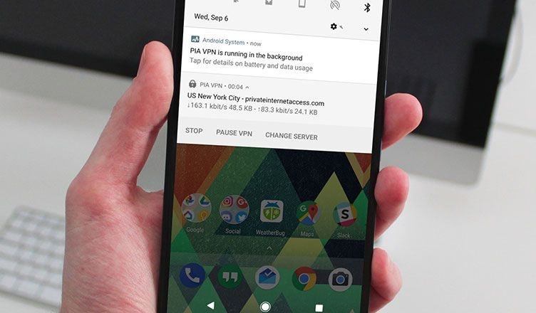 "How to Hide ""Running in Background"" Notification in Android"