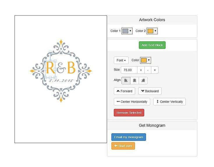 Create a custom monogram with these free monogram generators free monogram maker at invys