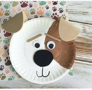 Dog craft idea for preschoolers | funnycrafts | BARKÁCS | Pinterest ...
