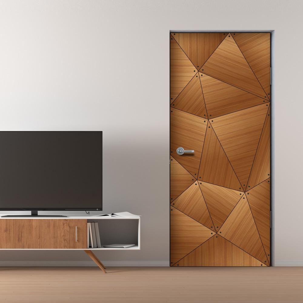 CocoBolo Geometric Door Mural