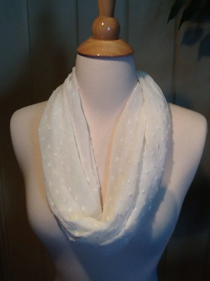 Magnetic scarf,scarf,loop scarf, white scarf, perfect white scarf by IszyScarfCompany on Etsy