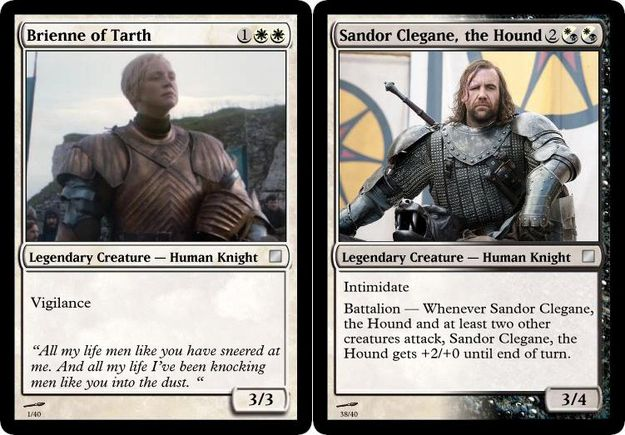 Jeu De Cartes Game Of Thrones Magic The Gathering Magic The