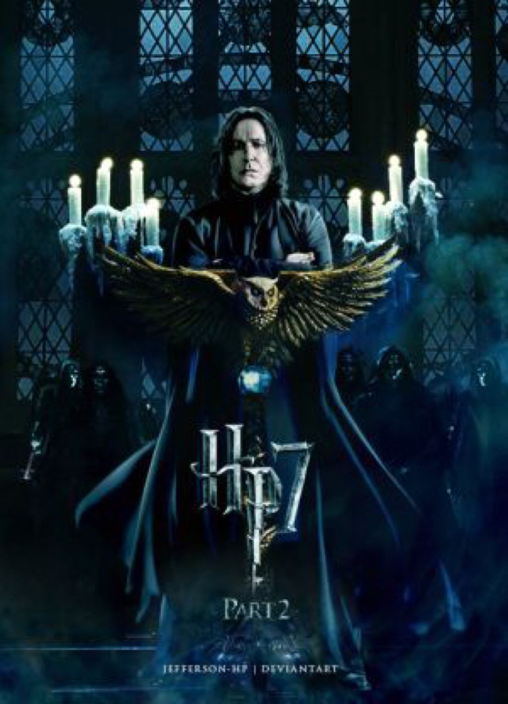 68ccccc1064 Poster - Snape Takes Over DH2 by jefferson-hp on  DeviantArt