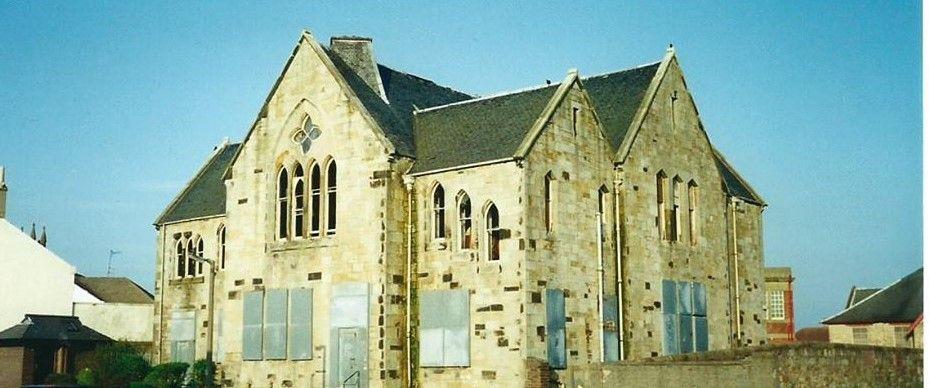 Community Centre Before It Was Demolished Village Life Scotland