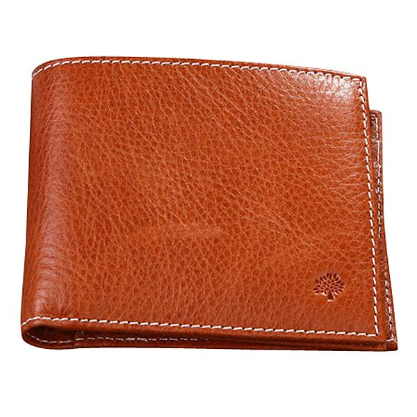 1b3b9b5f4e7 Mulberry Men's Natural Leather 8 Card Coin Wallet Light Coffee £82.99 Save:  59% off