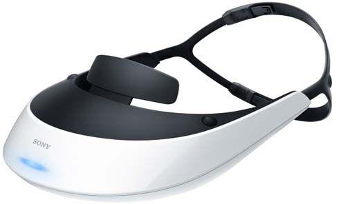 Jogue e assista a filmes em qualquer lugar através da viseira 3D da Sony
