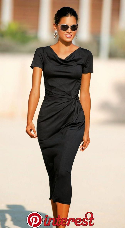 fashion desing #blackdresscasual