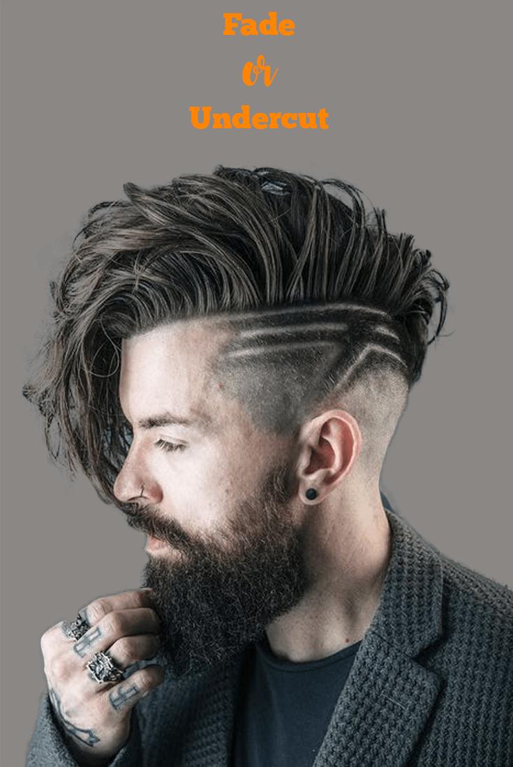 Mens haircuts undercut undercut or fade haircut  peluquería  pinterest  fade haircut