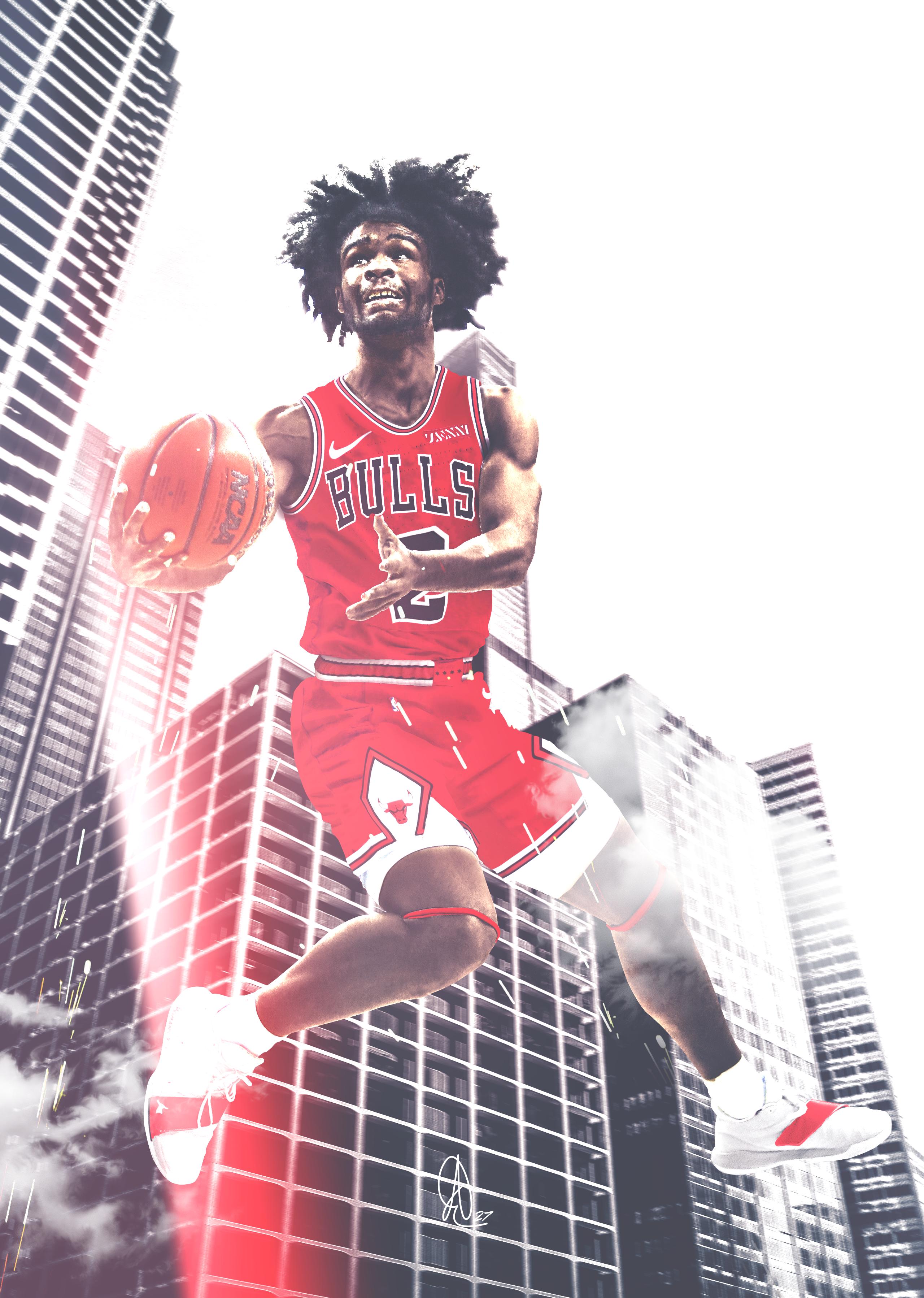 Coby White Chicago Bulls Bulls Wallpaper Chicago Bulls Basketball Players