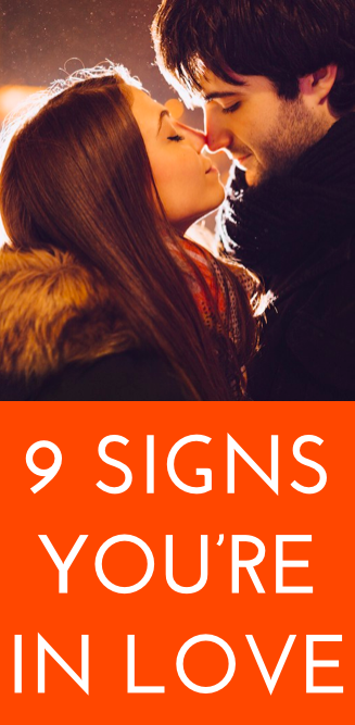 How to tell if youre in love quiz