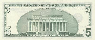 5 Dollar Bill Back Back Http Www Wpclipart Com Money Us Currency Us 5dollar Back Png 5 Dollar Bill Dollar Bill Social Security Card