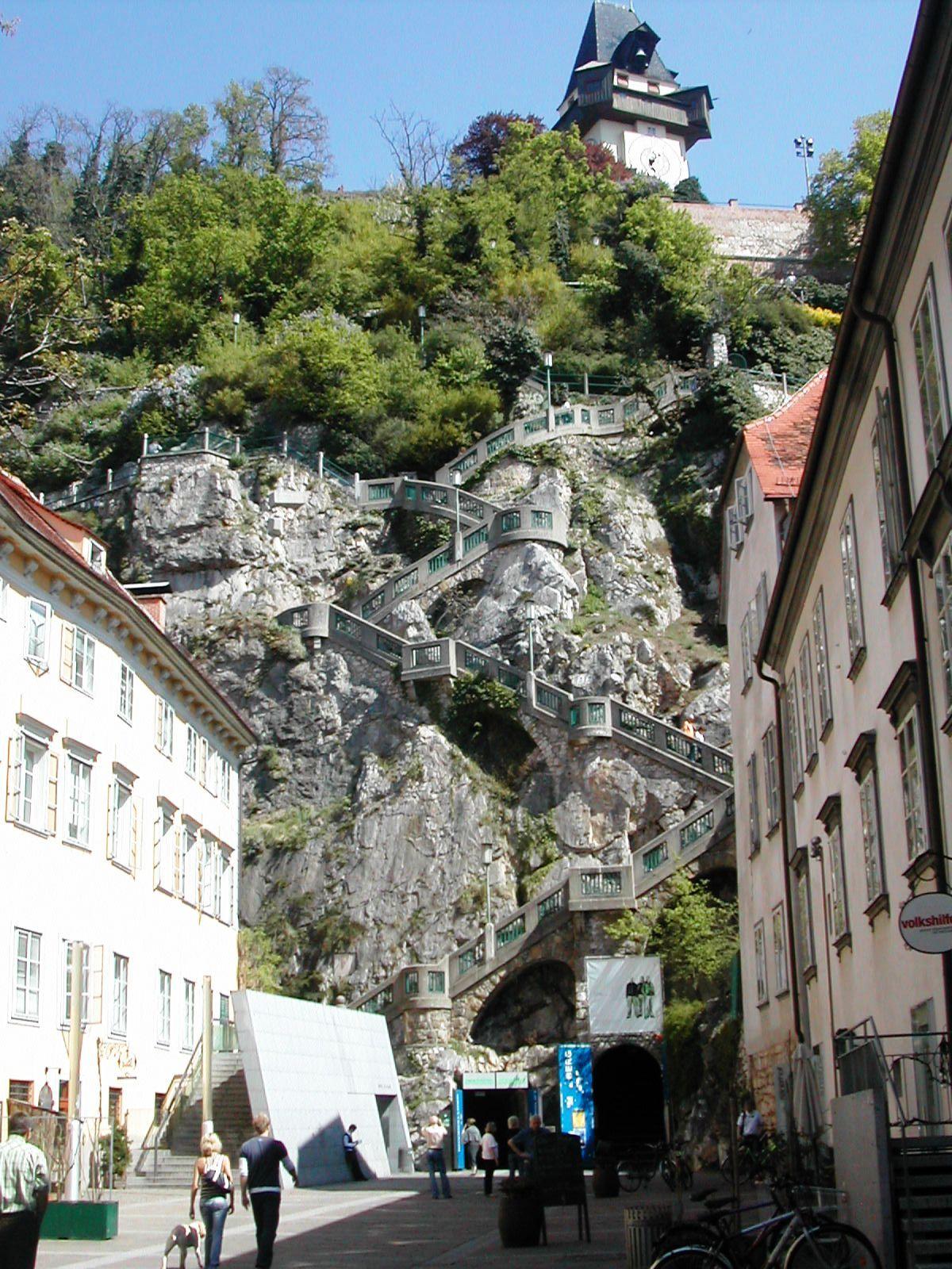 Https Upload Wikimedia Org Wikipedia Commons 2 25 Grazer Schlossberg Kriegssteig Jpg Styria Graz Places To Travel