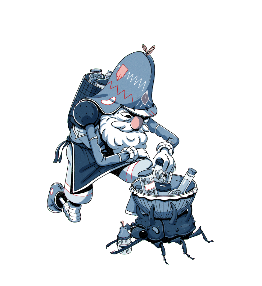 Old man Grubbins & shop helper by Freelance illustrator George Bletsis http://t.co/uhdKw5wI8G