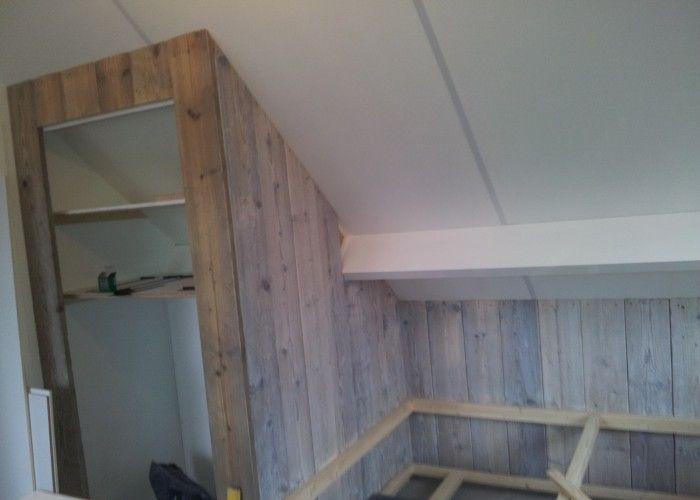 kasten maken op zolder onder een schuin dak   Google zoeken   kasten onder schuin dak   Pinterest