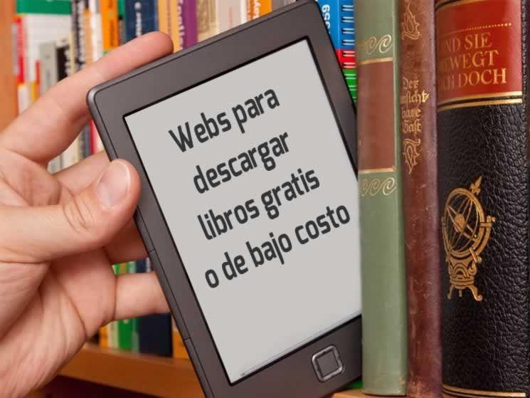 Webs para descargar libros gratuitos o de bajo precio