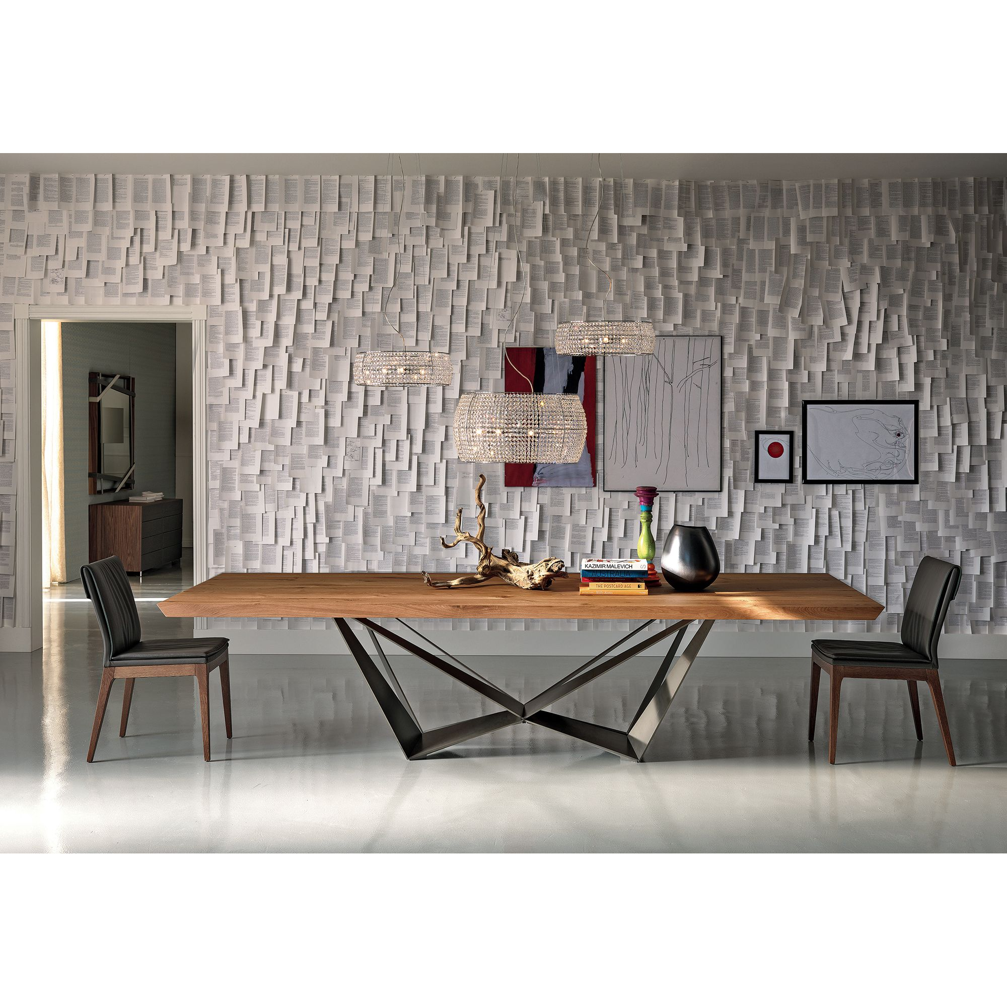 Skorpio Dining Table Contemporary Dining Table Modern Dining