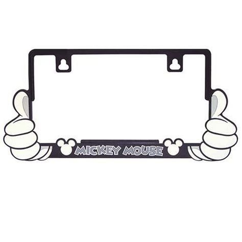 Mickey Mouse License Plate Frame | Disney | Pinterest | License ...