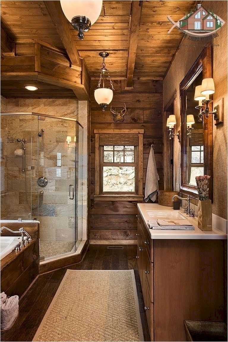 48 amazing country bathrooms ideas you can imitate