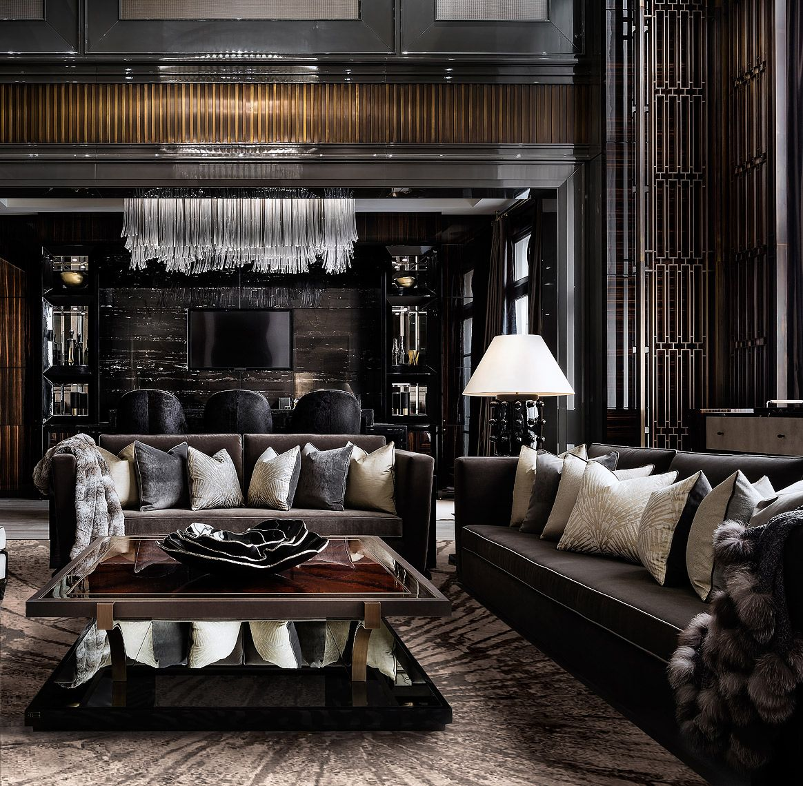Home Decor 2012 Luxury Homes Interior Decoration Living: 200 Russell Hill Living Room By Designer Lori Morris In