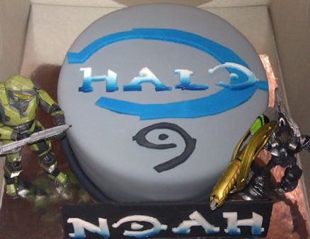 halo cake party ideas Pinterest Halo cake Cake and Birthdays