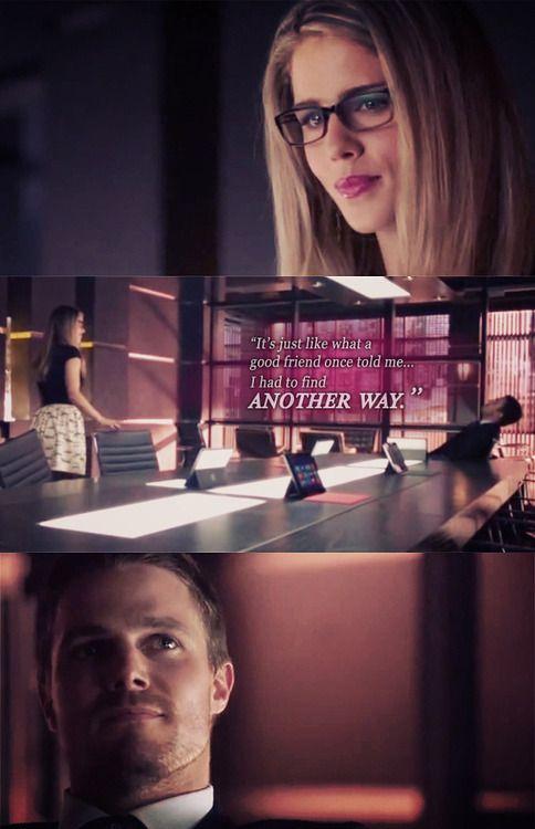 Arrow - Felicity & Oliver #Season2 #Olicity