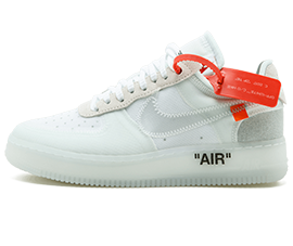 off white air force 1 price