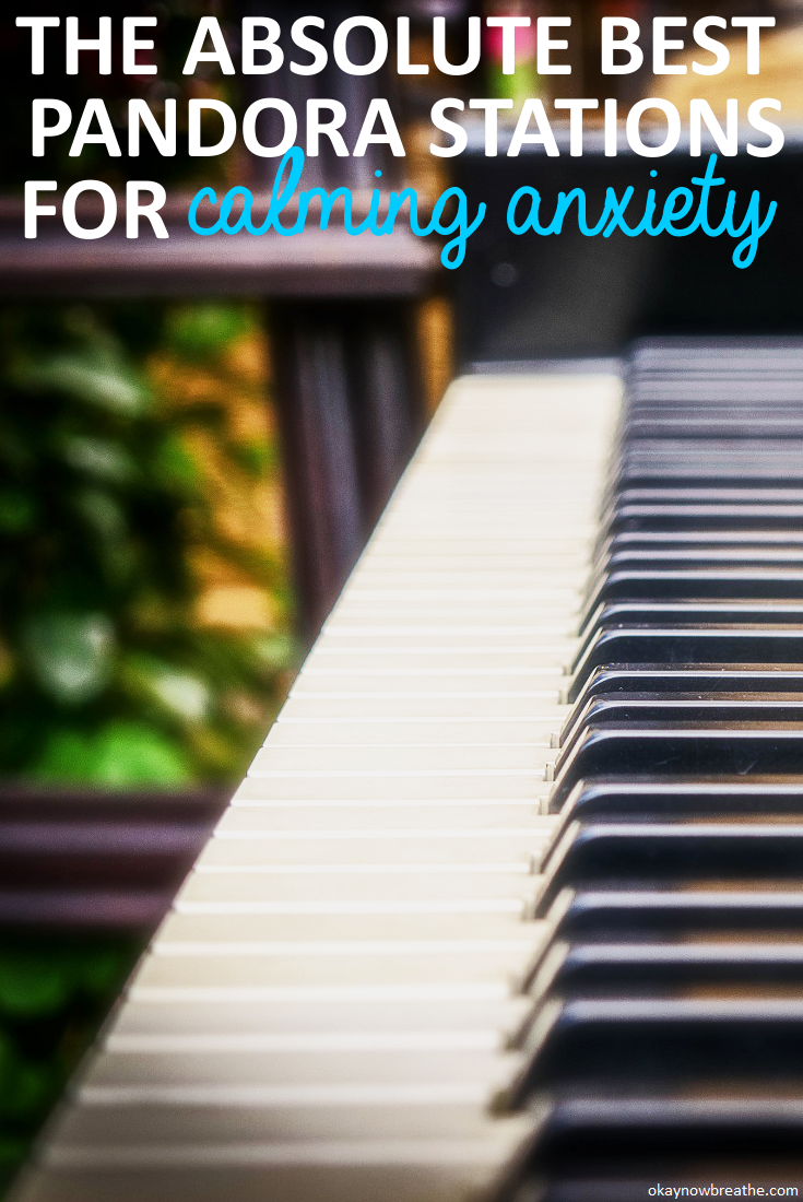 The Absolute Best Pandora Stations for Calming Anxiety | When my anxiety is acting up, I'll blast my Pandora stations, or better yet, I'll put earbuds in to completely drown out what's going on around me.