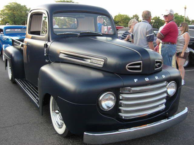 48 50 Ford F1 Classic Cars Trucks Hot Rods Ford Trucks 1952