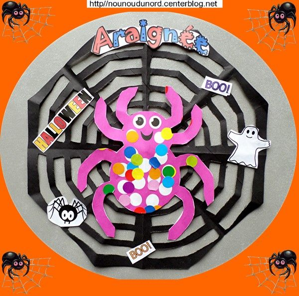 tuto activit s manuelles halloween chez assistante maternelle blog nounoudunord halloween. Black Bedroom Furniture Sets. Home Design Ideas