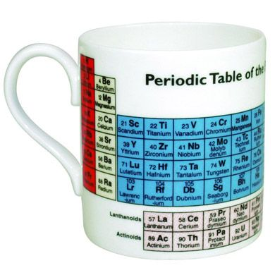Periodic Table Mug Gifts Gadgets Presents For Men
