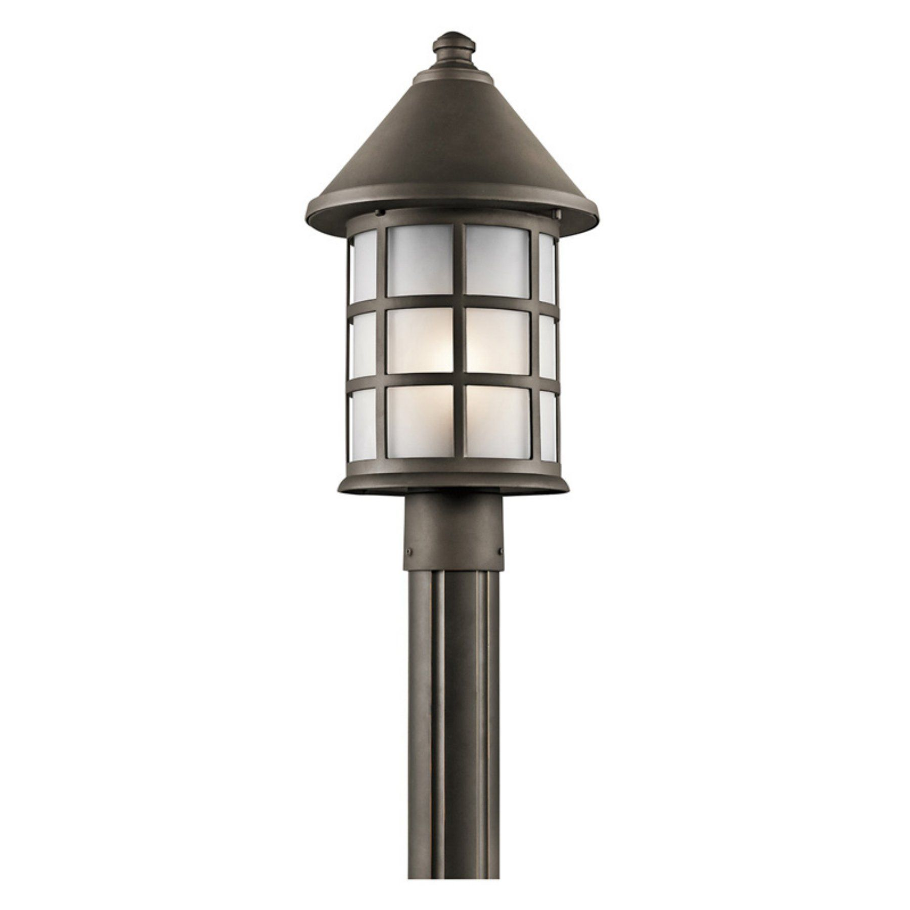 Kichler town light 49621oz outdoor post light 49621oz products kichler town light 49621oz outdoor post light 49621oz mozeypictures Image collections