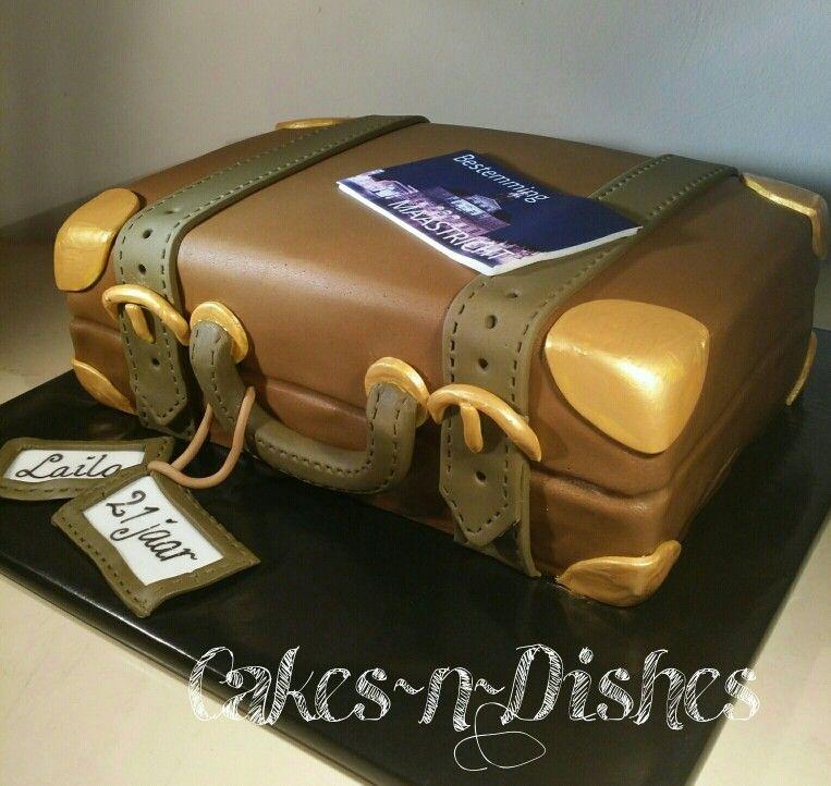 Suitcase Cake Cake Land Pinterest Suitcase Cake Cake And