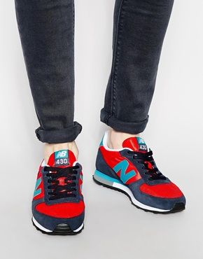 41bcf236fa1ec New Balance 430 Mesh Sneakers Onitsuka Tiger, Mens Sale, Rubber Shoes, Sneakers  Sale