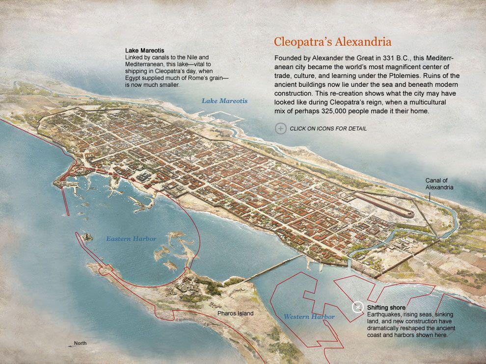 Cleopatra S Alexandria Maps Pinterest Alexandria Map