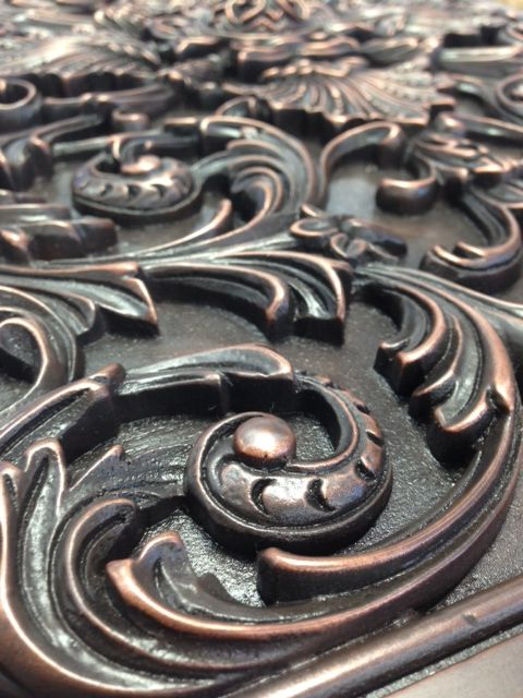 Metal Decorative Tiles Made In The Usa Landmark Metalcoat Produces Metal Decorative