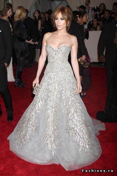 24c371289ddea5c Самые лучшие вечерние платья Jennifer Lopez / дженифер лопес в платье
