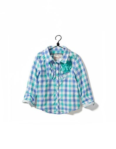 needs for COlorado checked shirt - Shirts - Baby girl (3-36 months) - Kids - ZARA United States