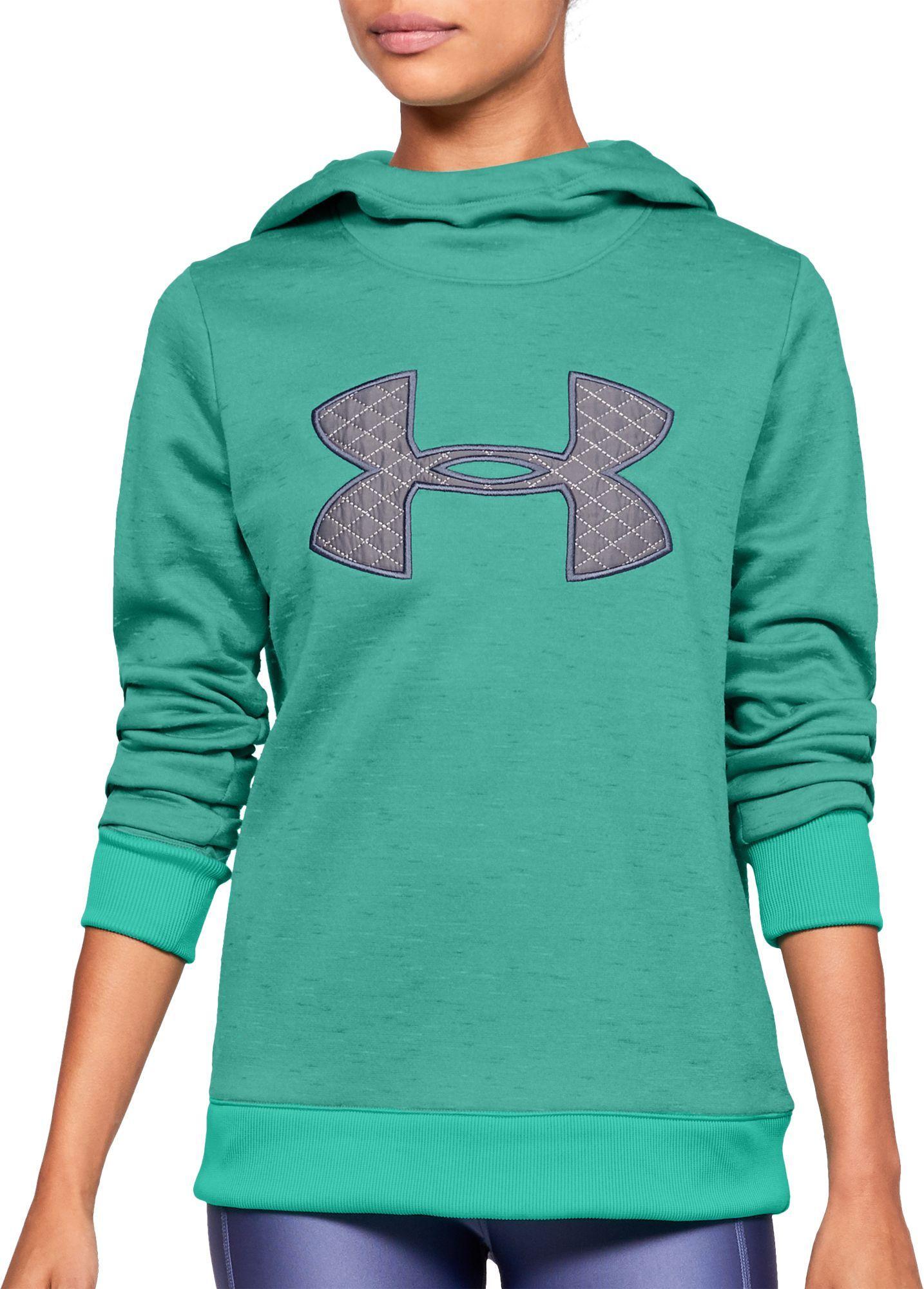 Under Armour Women S Armour Fleece Big Logo Hoodie Under Armour Women Under Armour Hoodies