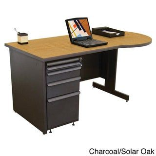 Marvel Zapf Office Desk With Built In File Storage Cabinet 60 X