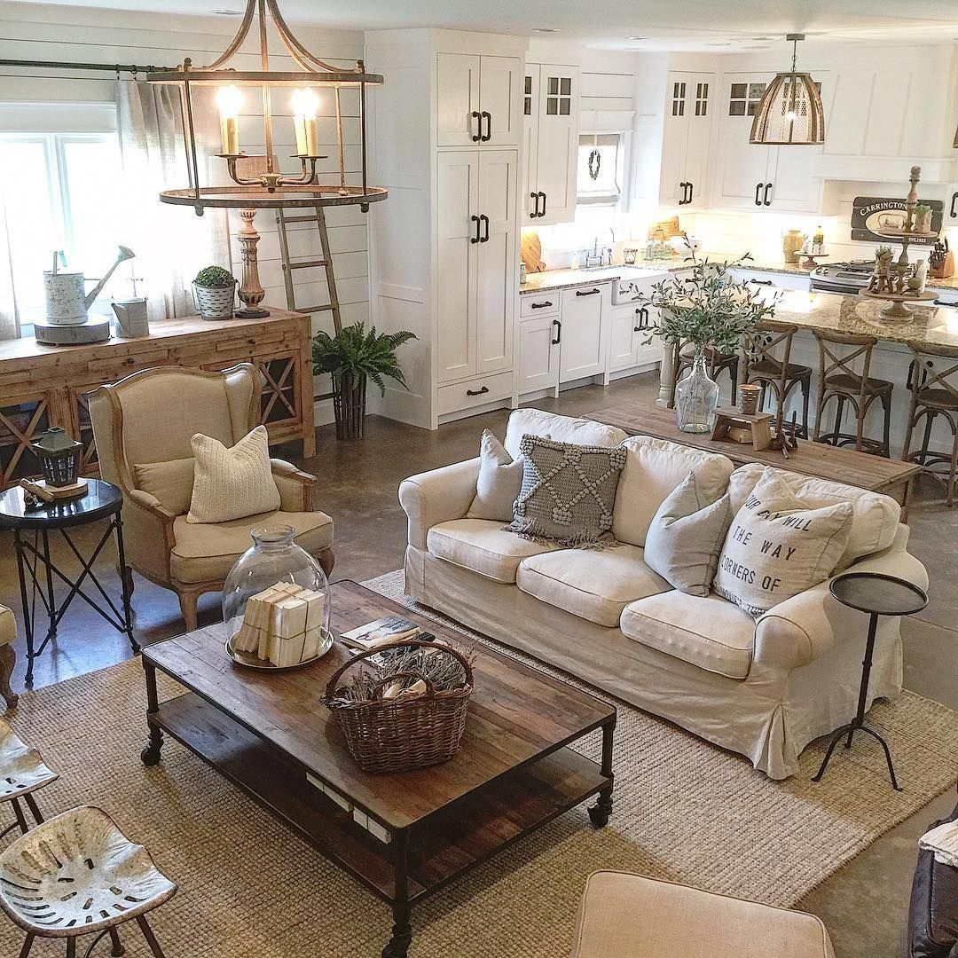 livingroomdecorrustic French country living room