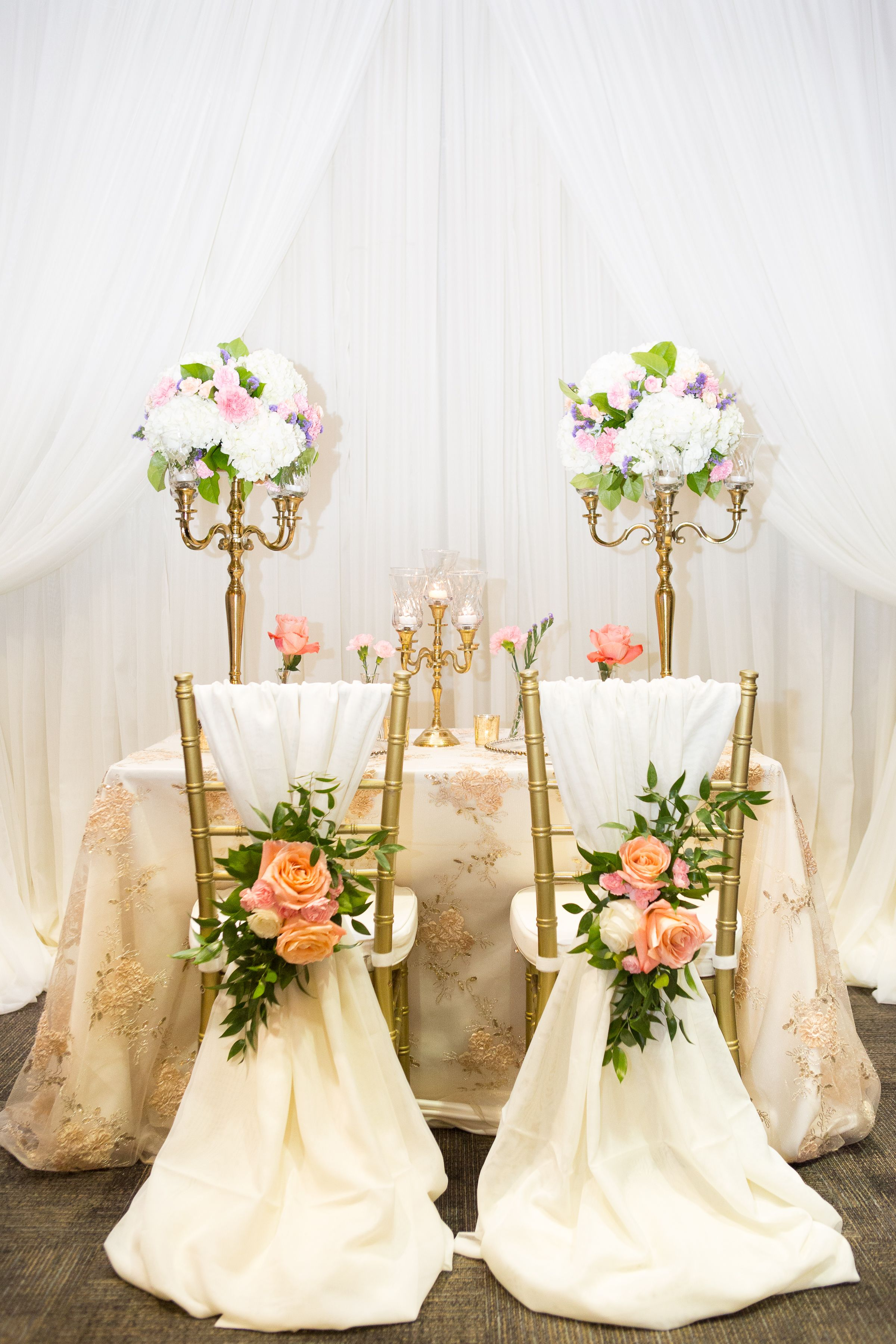 Ivory Wedding Backdrop Head Table Chiavari Chair Decor Wedding