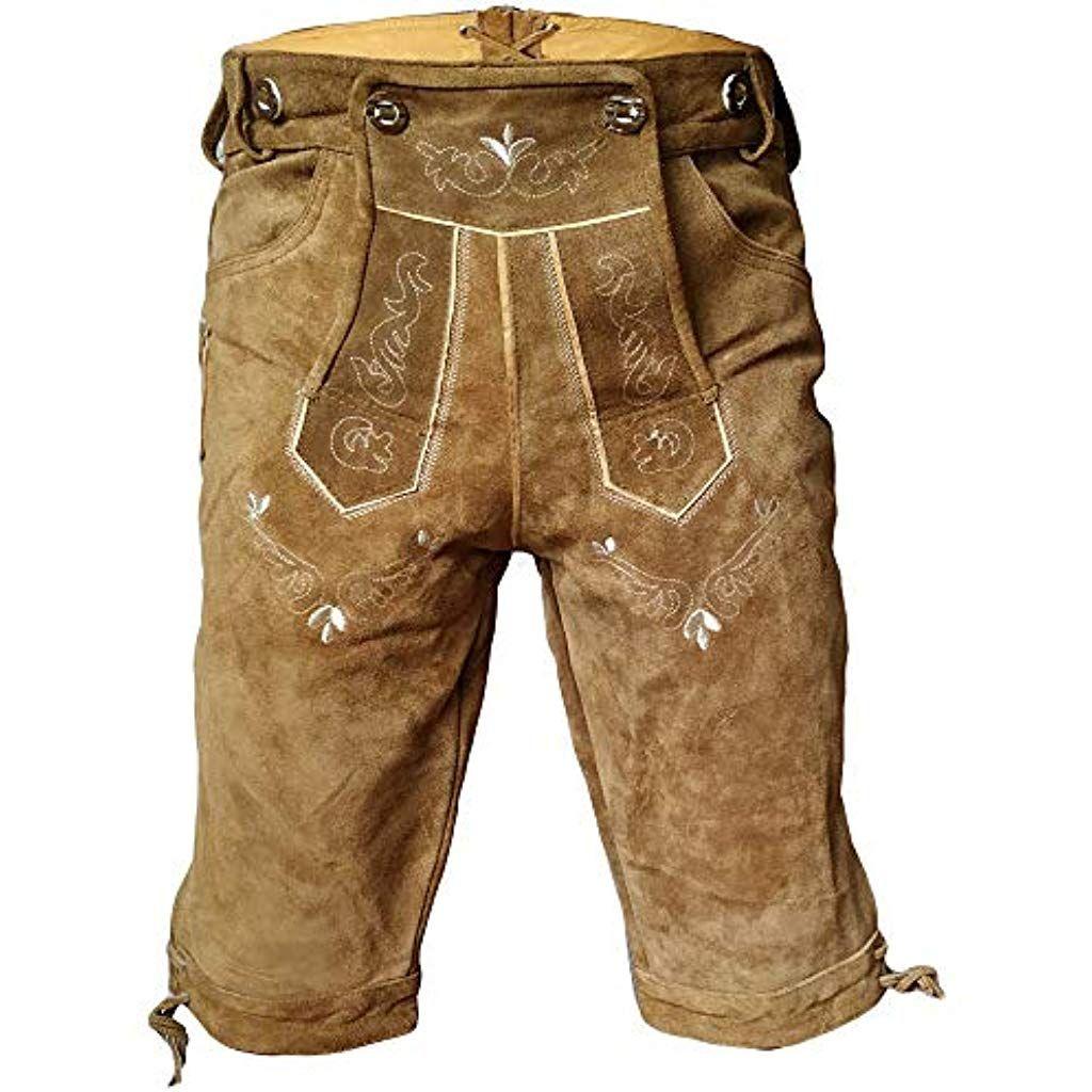 Herren Trachten Lederhose Bayerische Trachtenlederhose