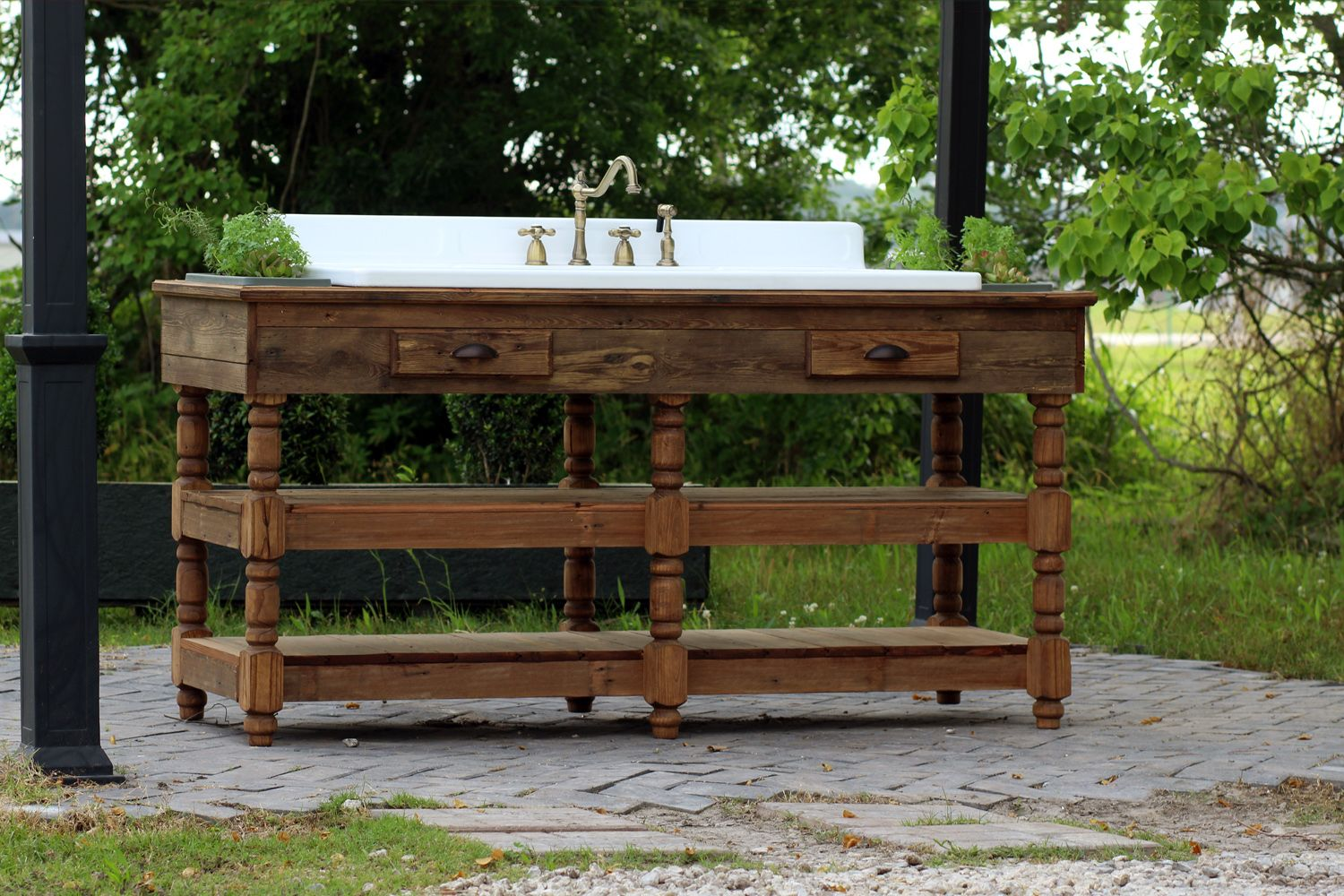 if you are an herb lover this piece is perfect for you check out our vintage refinished on outdoor kitchen vintage id=45798