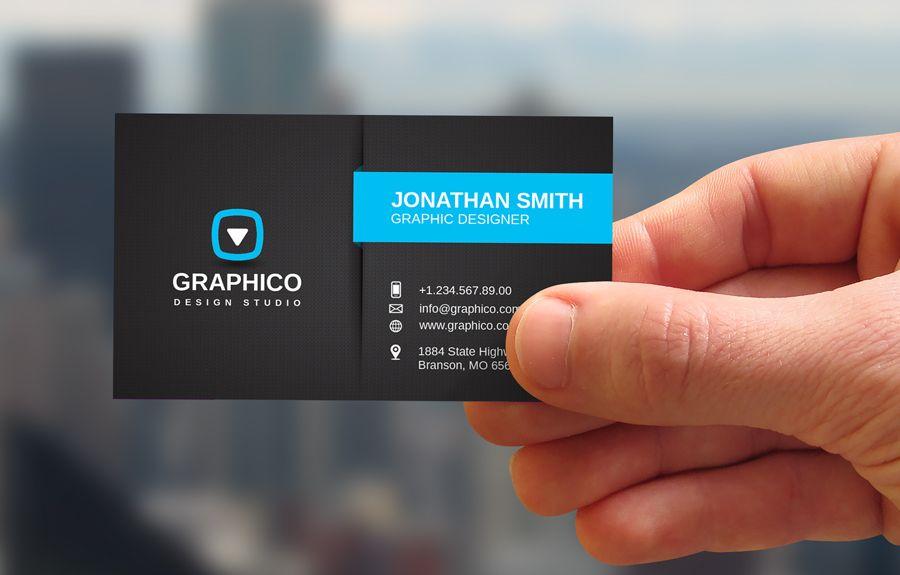 Stylish Corporate Business Card by nazdrag.deviantart.com on ...