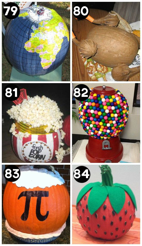 150 pumpkin decorating ideas fun pumpkin designs for Unique pumpkin decorating ideas