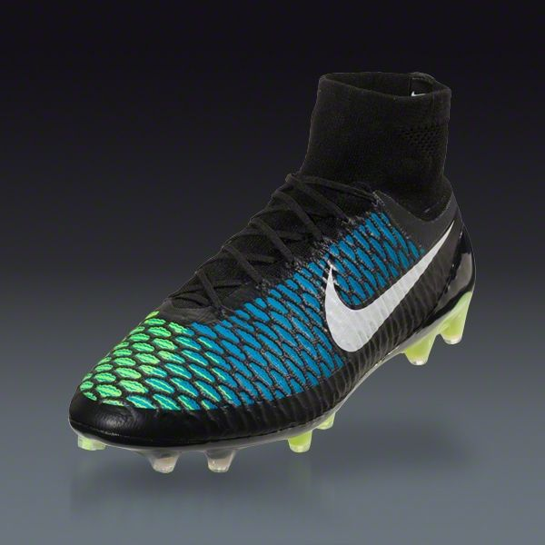 Buy Nike Magista Obra FG - Black/Volt/Blue Firm Ground Soccer Shoes on  SOCCER. Shop for all your soccer equipment and apparel needs.