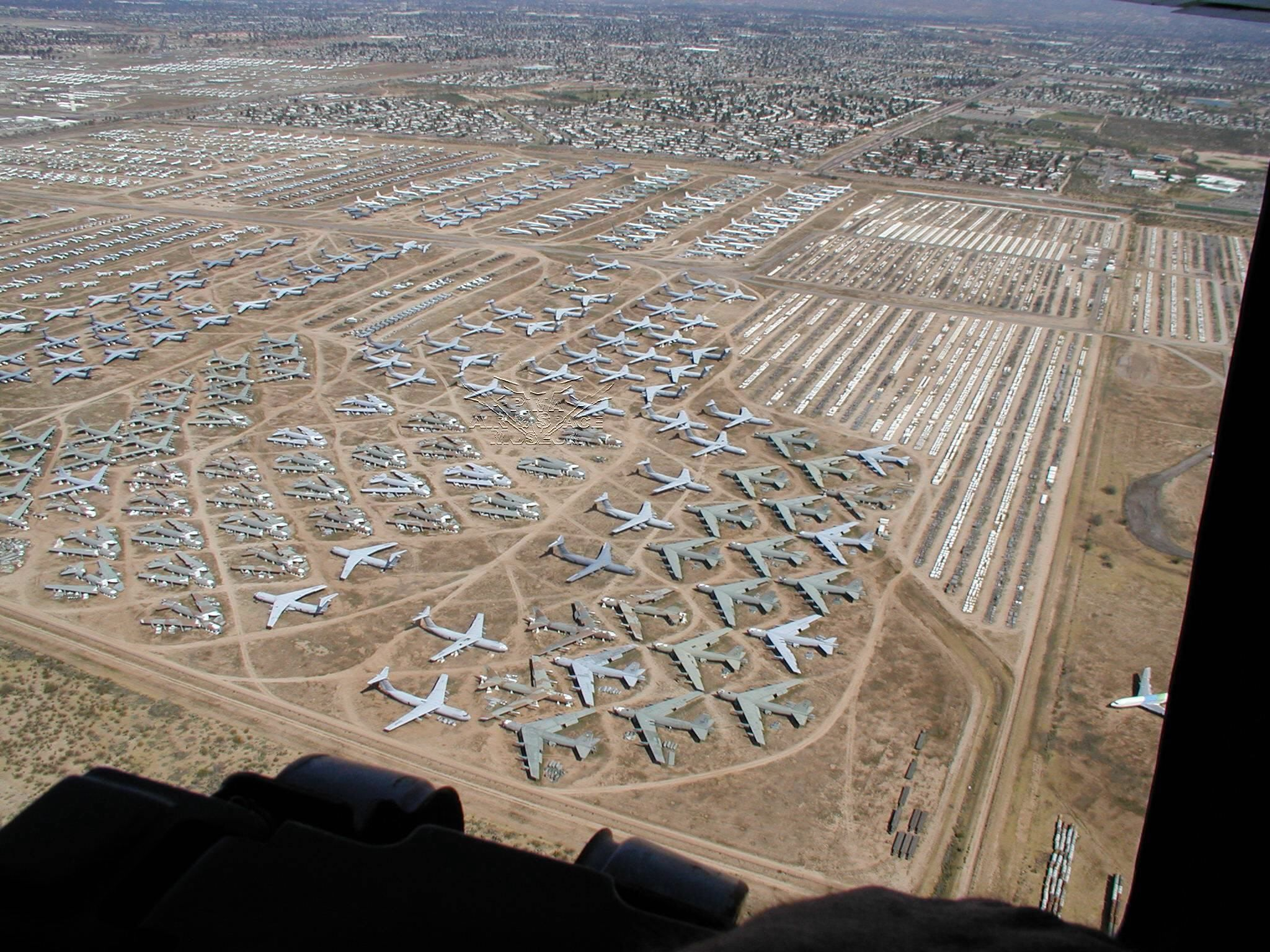 Arizona Air Force Base >> The Boneyard At Davis Monthan Air Force Base Near Tucson