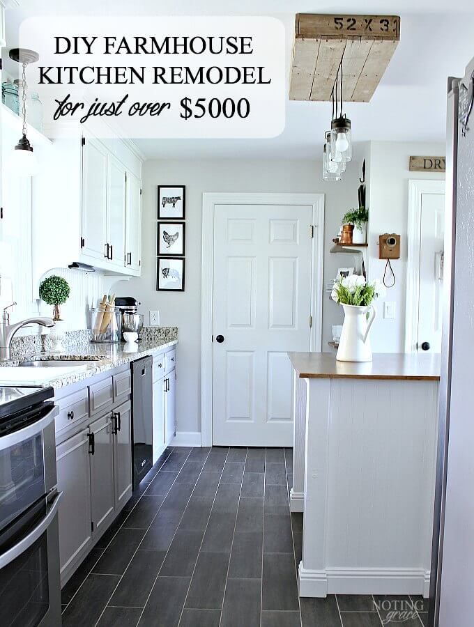 our amazing farmhouse kitchen remodel for just over 5000 small farmhouse kitchen kitchen on kitchen remodel under 5000 id=43202